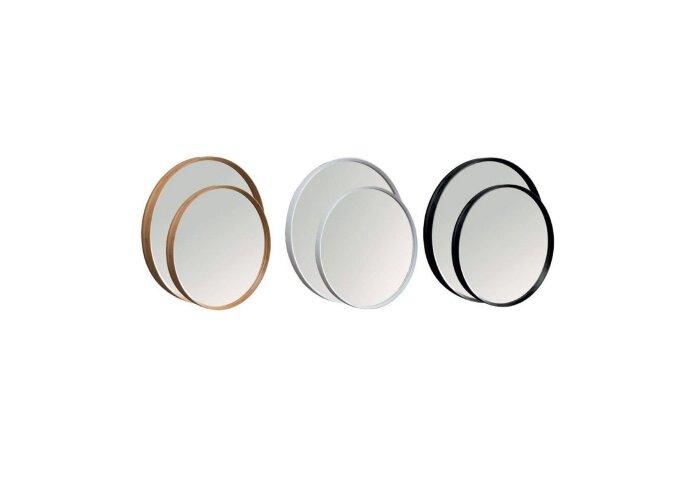 Badkamermeubelset Cipi Zen Consolle 80 cm Hout Wit (inclusief spiegel en opbouw waskom)