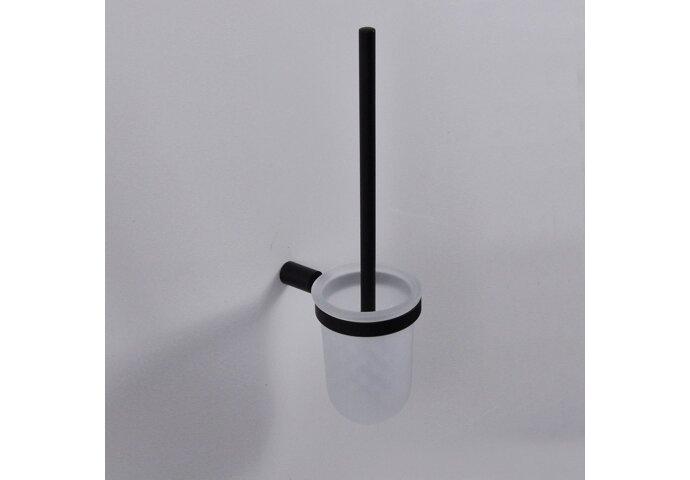 Toiletborstelhouder Wiesbaden Ida zwart