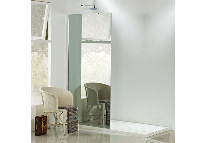 Inloopdouche Boss & Wessing spiegelglas 90x200cm 8mm NANO coating