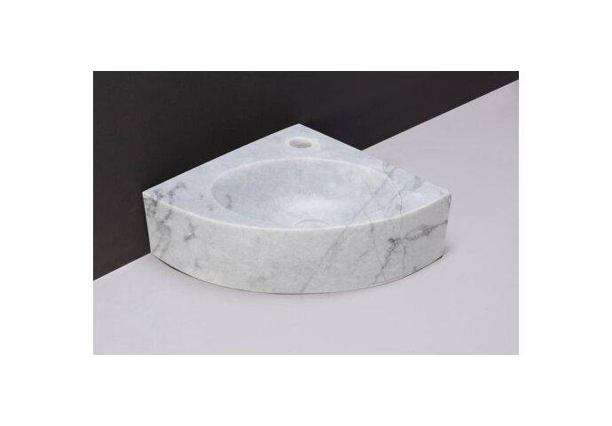 Fontein Forzalaqua Turino Carrara Gepolijst Met Kraangat 30x30x10 cm