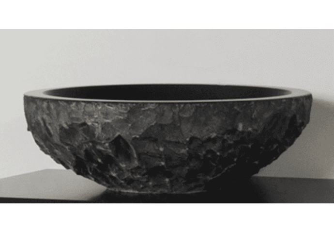 Badkamermeubel Exclusive Corestone Top Plate (4 lades, 2 waskommen) 120 cm Wit