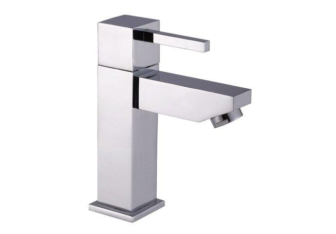 Toiletkraan Sanilux Modena Vierkant 1/2'' Chroom Met Keramisch Binnenwerk