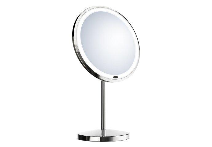 Vergrotingsspiegel Smedbo LED Vrijstaand 20 cm Chroom