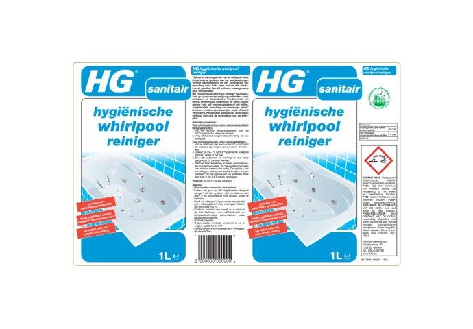 Hygiënische Whirlpool Reiniger HG (1 liter)