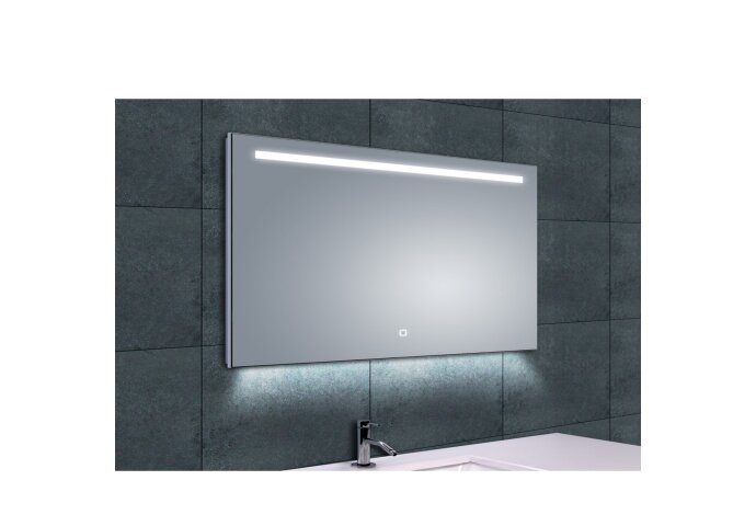 Spiegel Boss & Wessing Ambi One Led condensvrij 100x60cm | Tegeldepot.nl