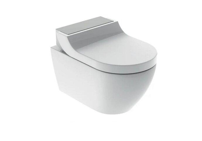 Douche WC Geberit AquaClean Tuma Comfort Compleet Rimfree Geborsteld RVS