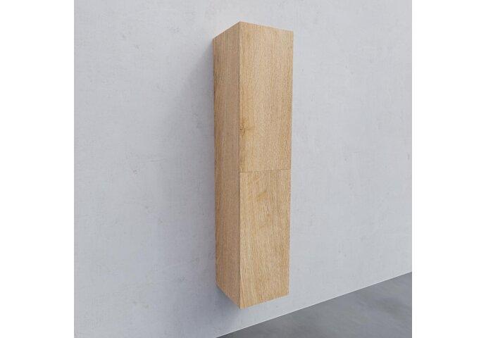 Kolomkast BWS Warschau 160x35x35cm MDF Omkeerbaar Wood Washed Oak