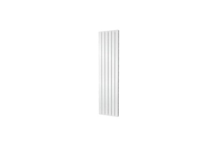 Designradiator Plieger Cavallino Retto Dubbel 1162 Watt Middenaansluiting 180x45 cm Wit
