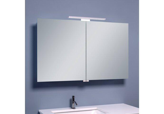BWS LED Spiegelkast Luxe Aluminium 100x60x14 cm