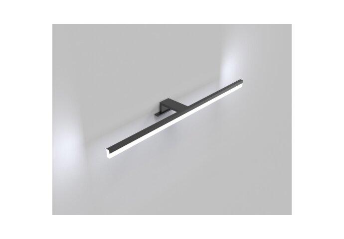 Spiegelverlichting LED Boss & Wessing Shine 60 cm Mat Zwart
