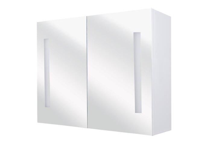 Spiegelkast Differnz Sotto 50x67.5x15 cm Wit