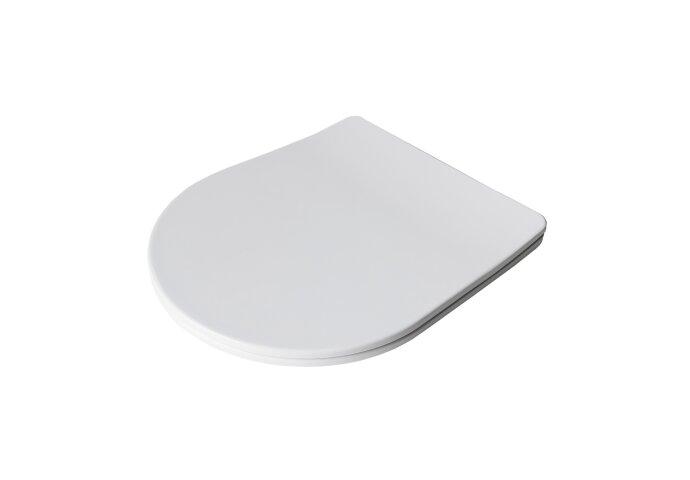 Toiletbril Boss & Wessing Softclose Zitting Met Deksel 36 cm Wit