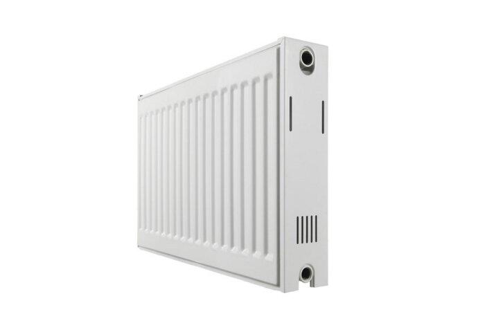 Paneelradiator Haceka Imago Duo 140x60 cm Wit Zij-Aansluiting (2181 Watt)