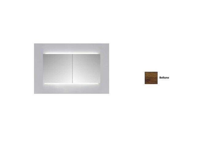 Spiegelkast Sanicare Qlassics Ambiance 70 cm 2 Spiegeldeuren Belluno Eiken