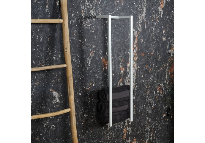 Handdoekenrek BWS Industrieel 95x25x20 cm Wit