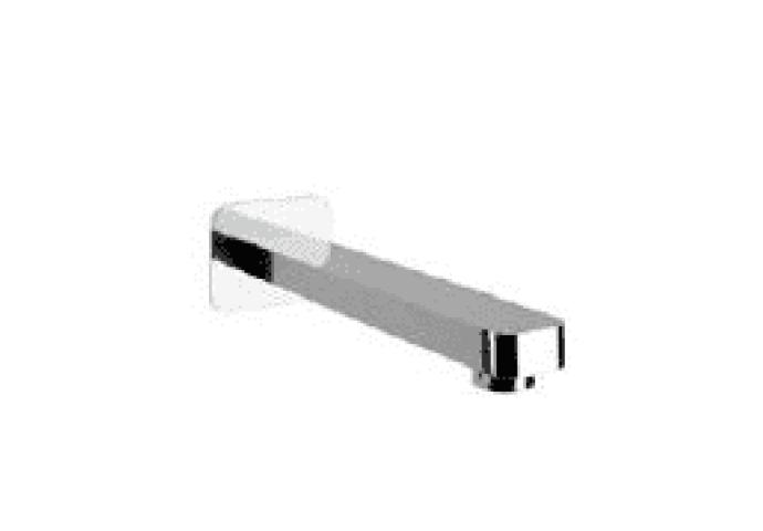 Cisal Cubic kraanuitloop muuropbouw chroom CU00024021