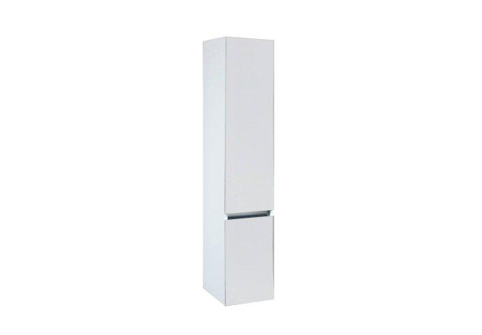 Kolomkast Isvea Twee Soft-Close deuren Greeploos 30x35x150 cm Rechts Hoogglans Wit