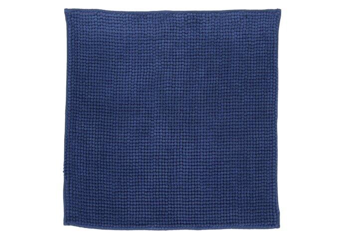 Badmat Differnz Candore Antislip 60x60 cm Microfiber Blauw