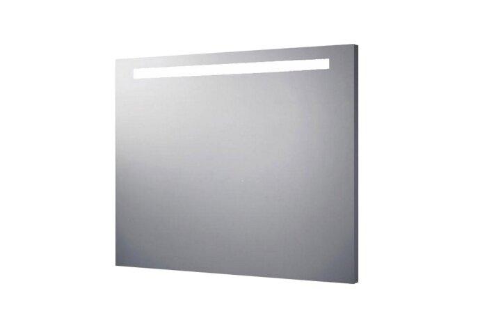 Spiegel Sanilux Mirror Aluminium met TL Verlichting Met of Zonder Radio (alle maten)