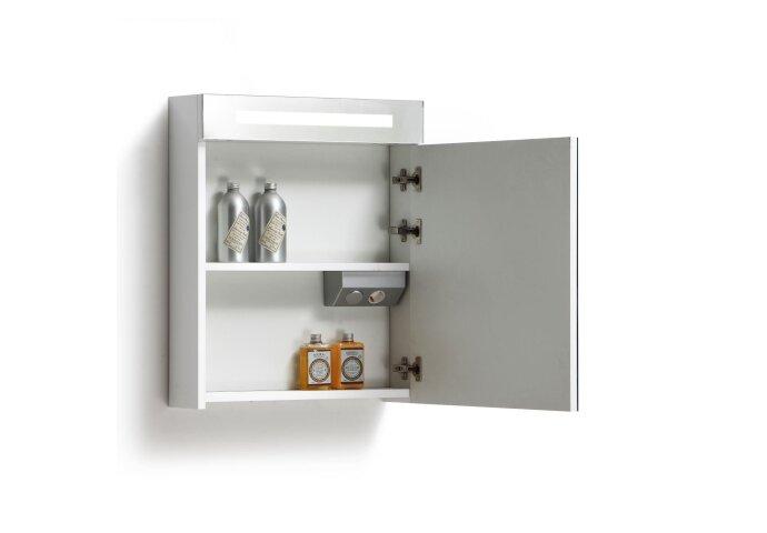 Spiegelkast met verlichting & wcd 60 cm