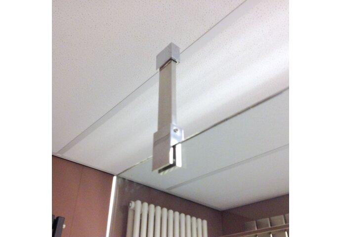 T-stuk voor plafond montage of om stangen haaks te koppelen detail