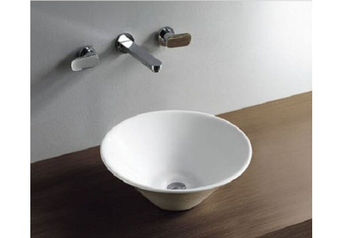 Opzetwastafel Wiesbaden Circle 420x420x150mm