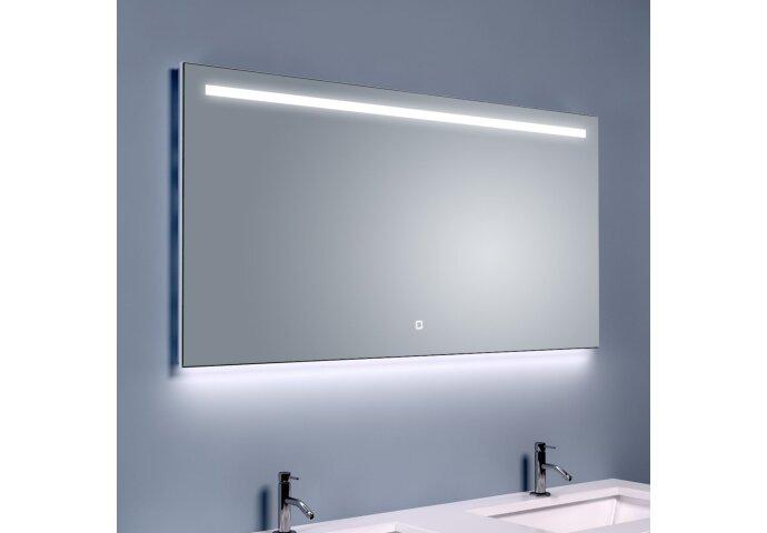 BWS Ambi LED Spiegel Dimbaar One Condensvrij 120x60 cm
