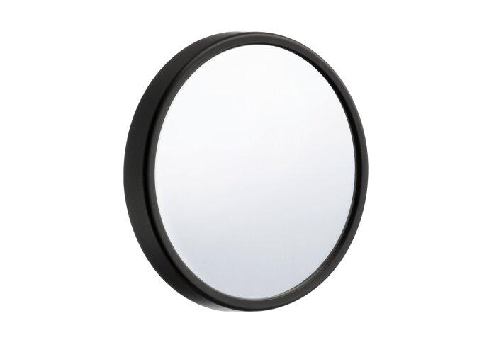 Make Up Spiegel Smedbo Outline Lite voorzien van Zuignap ABS/ Spiegelglas diameter 90mm Zwart