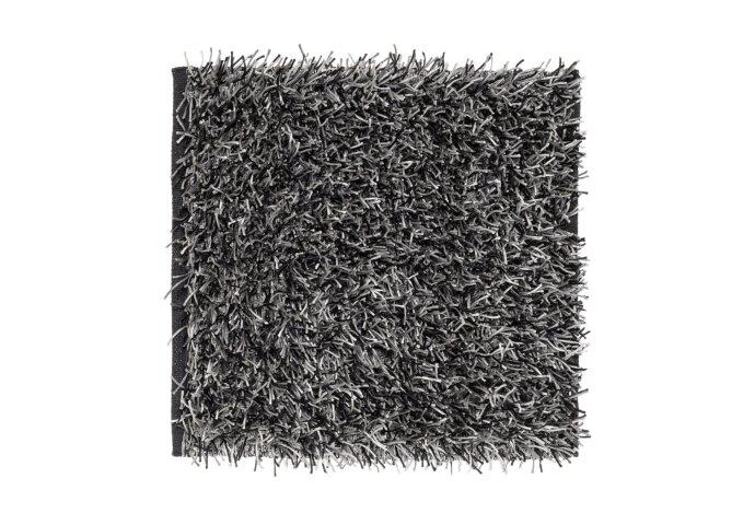 Bidetmat Sealskin Brilliance Milan 60x60 cm Zwart