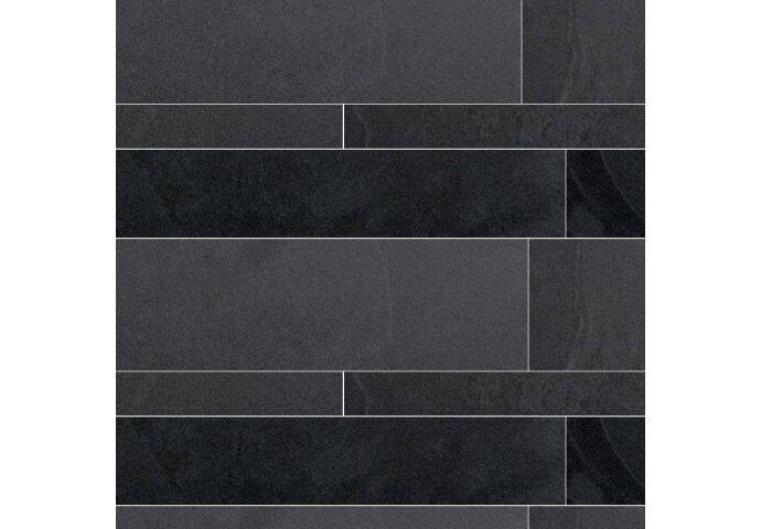 Wildverband tegel Cristacer Leiden Negro 5,10 & 15 cm (Doosinhoud 1,08M²)