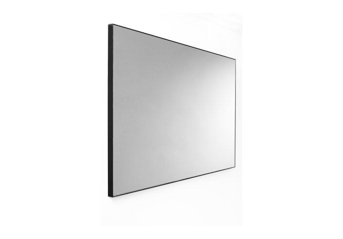 Wandspiegel Van Marcke Frame Zonder Verlichting 60x70 cm Glas En Zwart Aluminium Kader