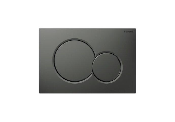Bedieningsplaat Geberit Sigma 01 Frontbediening Mat Antraciet