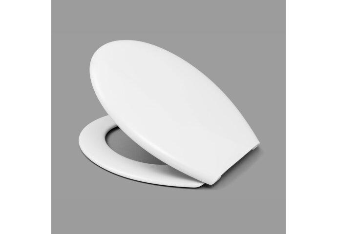 Toiletzitting Van Marcke Peca Thermoplast Wit
