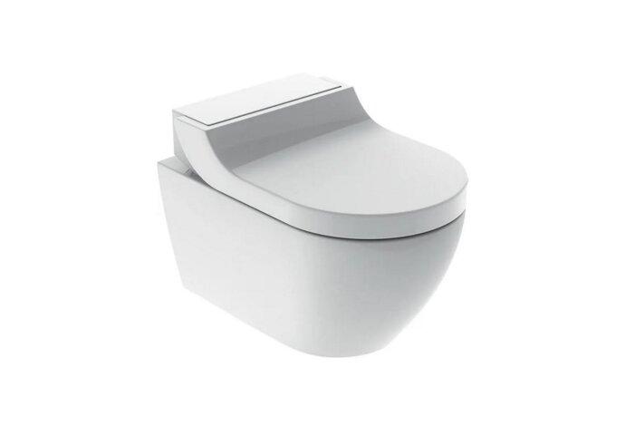 Douche WC Geberit AquaClean Tuma Classic Compleet Rimfree Glas Alpien Wit