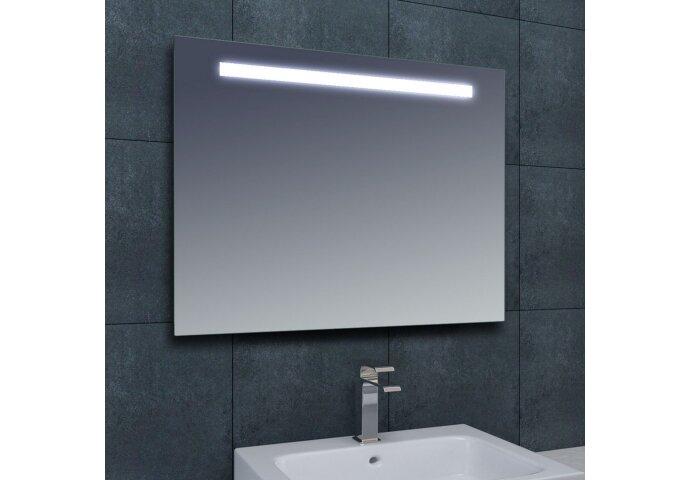 Spiegel Wiesbaden Tigris met LED verlichting en schakelaar 100x80x3cm