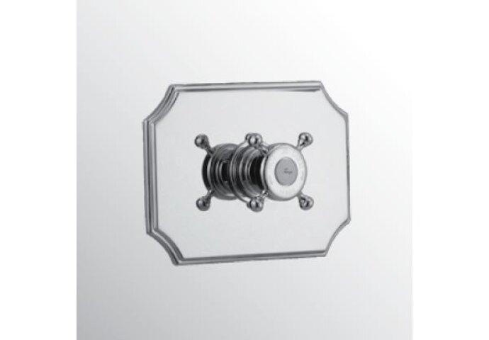 Huber Victorian inbouw thermostaatkraan Goud 255.01H.AG