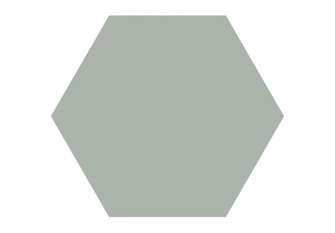 Hexagon Vloertegel Timeless Jade 15x17 cm Mat Groen (doosinhoud 0.58 m2)