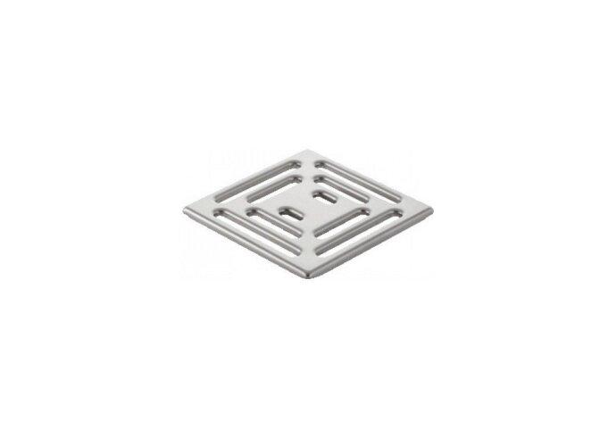 Putrooster Geberit Design voor Vloerput Douche Vierkant 10x10 cm RVS