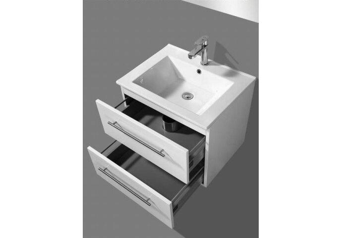 Badkamermeubelset Sanilux Keramic 60x46,5x50 cm (verkrijgbaar in twee kleuren)