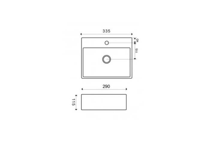 Fontein Boss & Wessing 33.5x29x11.5 cm Keramiek Quartz