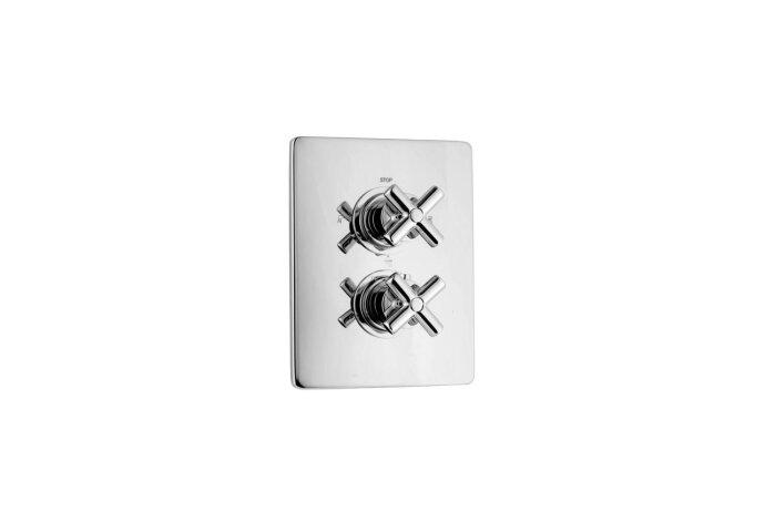Huber Suite Inbouw Thermostaatkraan 3-weg omsteller 367Q01HCR