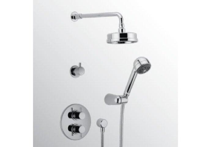 Huber Kiruna thermostatische inbouw doucheset chroom 913K.KR01H.CR