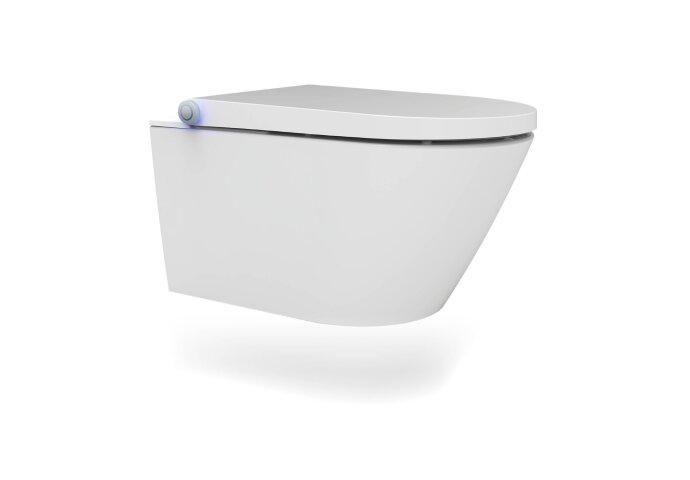 Douche WC Wiesbaden Vesta-Comfort Randloos Wandcloset Wit