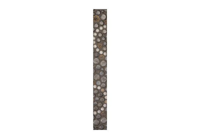 Vloertegel Cristacer Leiden Noce Decorado 7x60cm (Doosinhoud 0,63m²)
