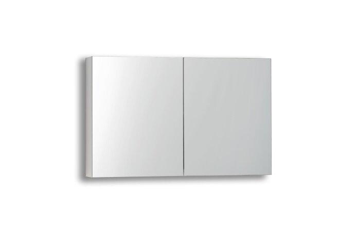 Spiegelkast Sanilux White zonder verlichting Hoogglans Wit 100x70x16cm