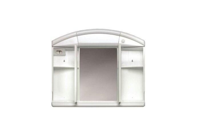 Spiegelkast Allibert Naty 59X50X16 cm Wit