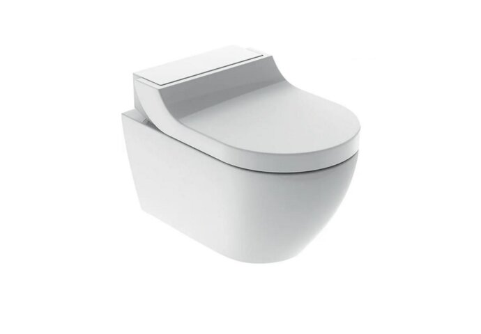 Douche WC Geberit AquaClean Tuma Comfort Compleet Rimfree Glans Wit