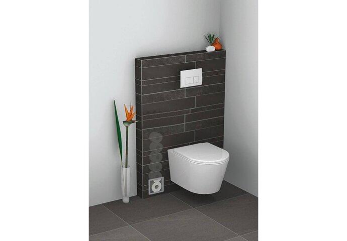 Reserve-toilet rolhouder Inbouw Wiesbaden RVS