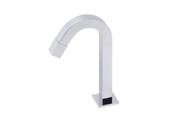 BWS Toiletkraan Kali Vierkant 10.3x5x20.5 cm Chroom