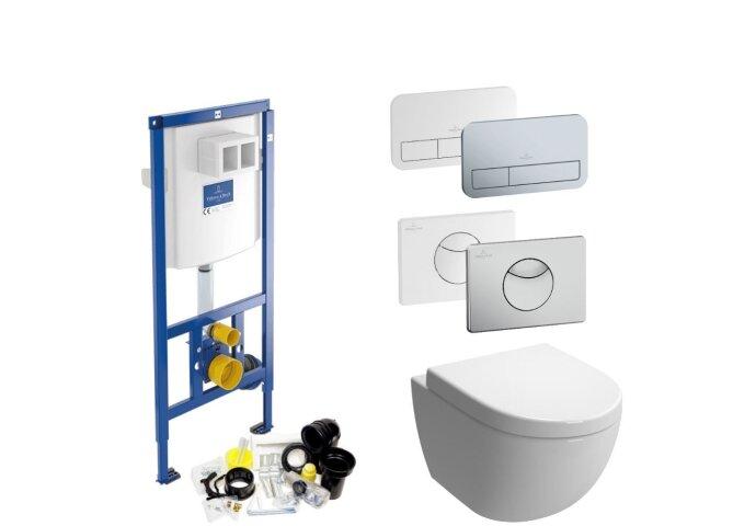 Villeroy & Boch ViConnect Toiletset SET14 Zero | Tegeldepot.nl